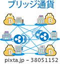 仮想通貨 管理 送金システムのイラスト 38051152