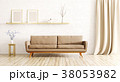 Interior of living room with sofa 3d render 38053982