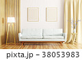 Interior of living room with sofa 3d render 38053983