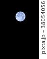 満月 月 ブルームーンの写真 38054056