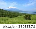 風景 富士山 空の写真 38055378