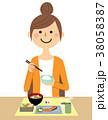人物 女性 ママのイラスト 38058387