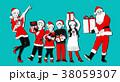 イラスト 挿絵 クリスマスのイラスト 38059307