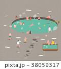 イラスト イラストレーション 動物のイラスト 38059317
