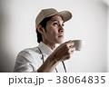 人物 男性 コーヒーカップの写真 38064835