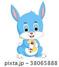 動物 うさぎ バニーのイラスト 38065888