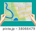 地図 ひだ 襞のイラスト 38066479