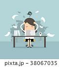 キャリアウーマン ビジネスウーマン 女性実業家のイラスト 38067035