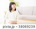 小学生 ライフスタイル 勉強の写真 38069239