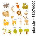 アイコン ワイルド 野生のイラスト 38070000