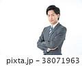 ビジネスマン ボールペン 男の写真 38071963