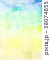 青空 水彩 背景素材のイラスト 38074655