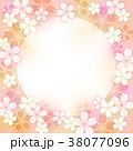 桜丸フレーム背景 38077096