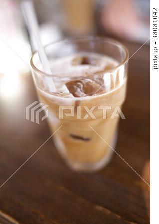 喫茶店のアイスコーヒー イメージ 38081042