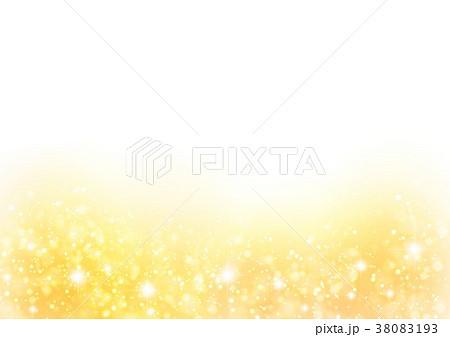 黄色キラキラ下背景 38083193