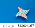 手裏剣の折り紙 38084167