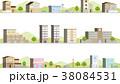 街並み 立体 シームレス 38084531