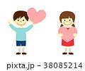 子供 ハート 38085214