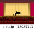 ホールとピアノ 38085313