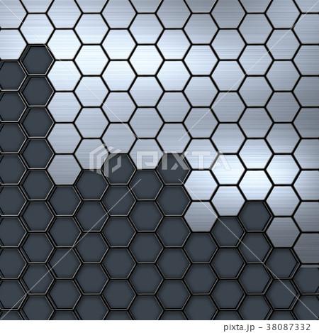 メタル アルミ 金属 光沢 ヘアライン メタリック  38087332