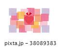 素材-BIRTHDAYカード3(文字なし) 38089383