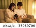 夜 子育て 赤ちゃんの写真 38089700