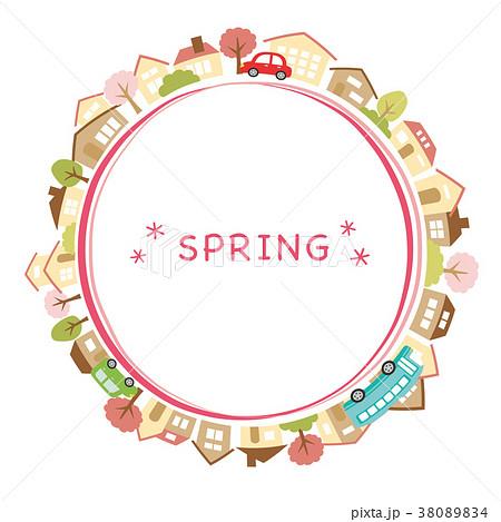 春の街並み 38089834