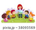 キッズ 児童 子どものイラスト 38093569