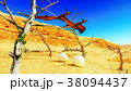 Egg and pterodactyl 3d rendering 38094437