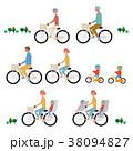 自転車 乗り物 マナーのイラスト 38094827