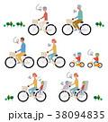 自転車 乗り物 マナーのイラスト 38094835