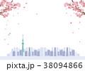 桜 ベクター 春のイラスト 38094866