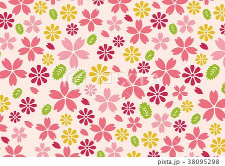 桜の背景素材 38095298