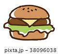 ハンバーガー 38096038