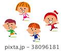 子供 男の子 女の子のイラスト 38096181