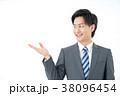 ビジネスマン 男 男性の写真 38096454