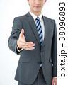 ビジネスマン サラリーマン ビジネスの写真 38096893