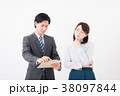 ビジネス 男女 会社員の写真 38097844