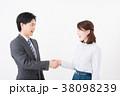 ビジネスシーン 男女 38098239