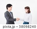 ビジネスシーン 男女 38098240