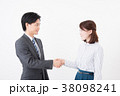 ビジネスシーン 男女 38098241