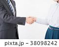ビジネスシーン 男女 38098242