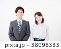 ビジネスシーン 男女 38098333