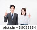 ビジネスシーン 男女 38098334