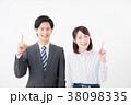 ビジネスシーン 男女 38098335