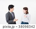 ビジネスシーン 男女 38098342