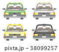 タクシーのセット 38099257