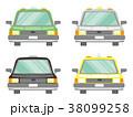 タクシー セット バリエーションのイラスト 38099258