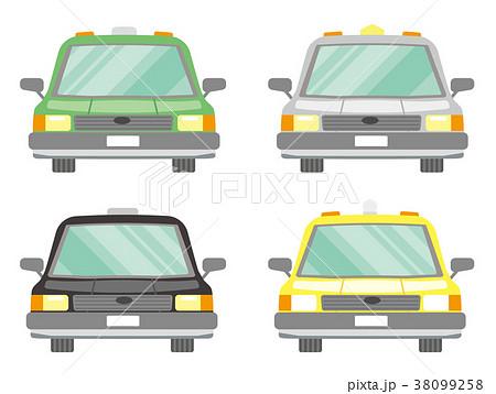 タクシーのセット 38099258