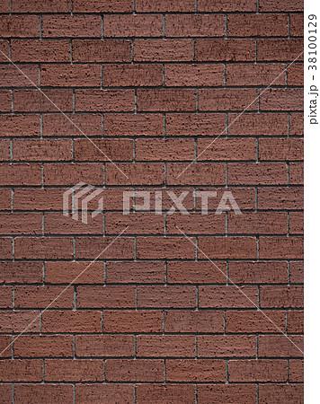 レンガタイルの壁 38100129